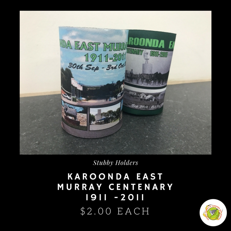 Stubby Holders: Karoonda East Murray Centenary 1911 -2011