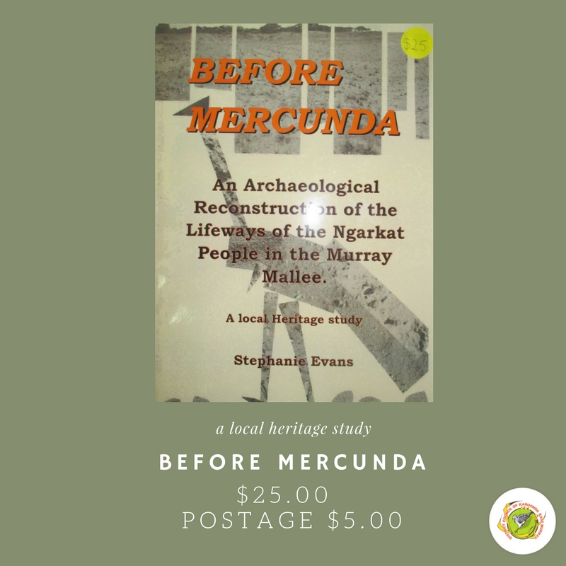 Book: Before Mercunda - a local heritage study