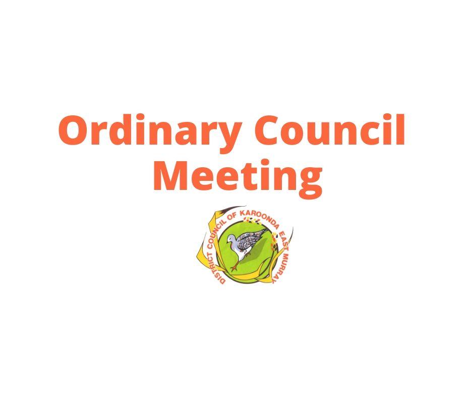 Council Meeting Logo